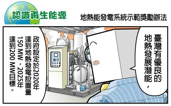 地熱能發電系統示範獎勵辦法